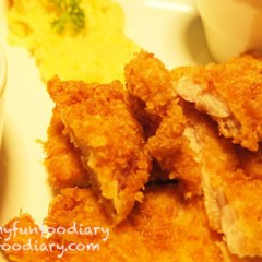 Cappucino Chicken at BlackListed Coffee Puri Indah Mall