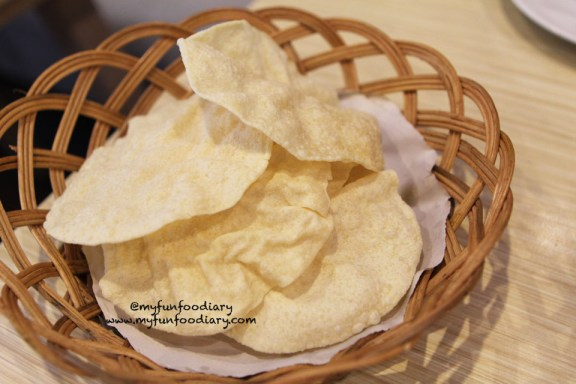Basket of Papadum
