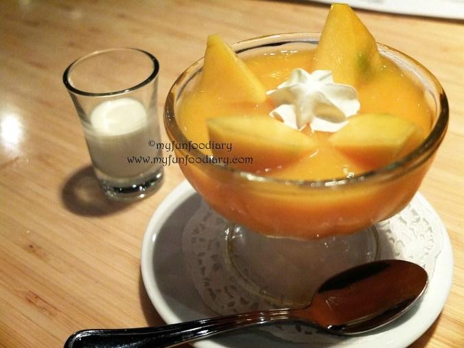 Pudding Mangga