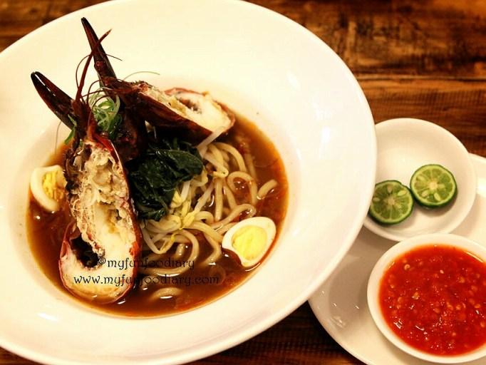 Crayfish Mie Kangkung