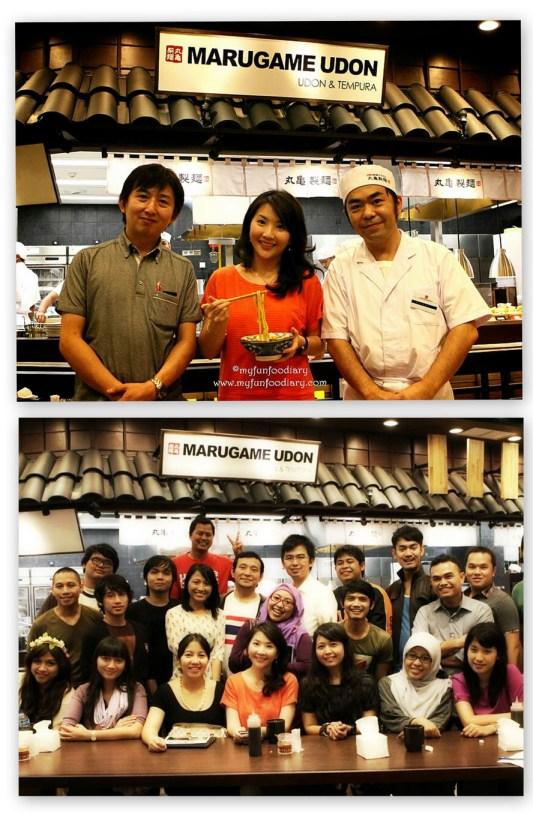 Foto Bersama dengan Chef Hondo dan teman2 blogger lainnya