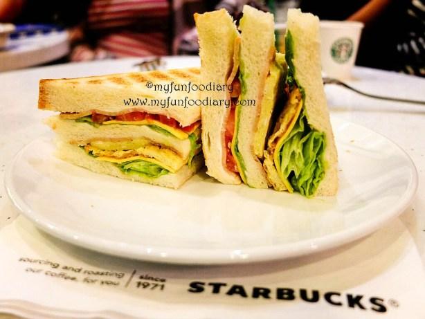 Half Double Decker Sandwich