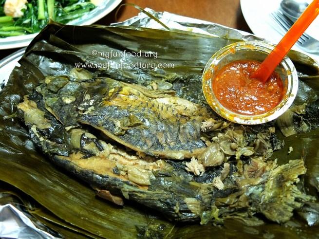 Pepes Tulang Lunak Petulu Fish