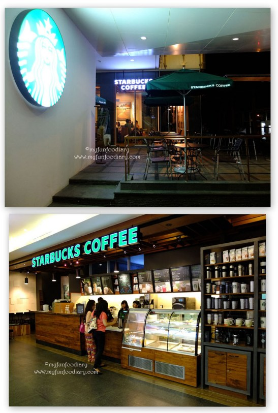 Outlet Starbucks 1Park Residence
