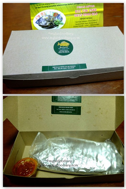Packaging Petulu Fish
