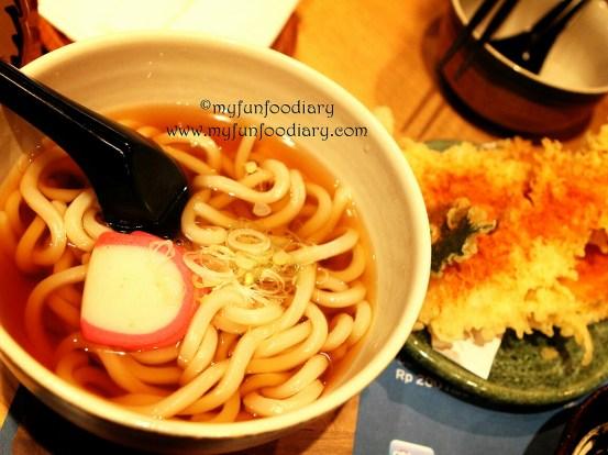 Spicy Tempura Udon