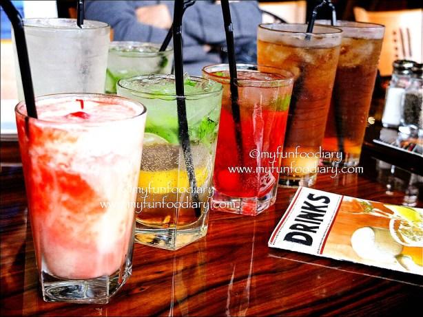 Varian Minuman Lainnya di Outback Steakhouse