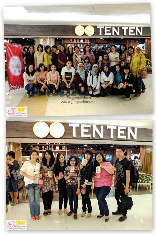 Foto Bersama Semua Peserta Cooking Class Ten Ten