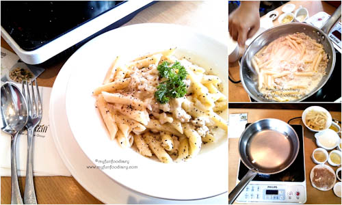 Penne Minced Chicken With Cheese Buatanku