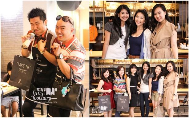 Aksi Seru Foodblogger dan Foto Bersama