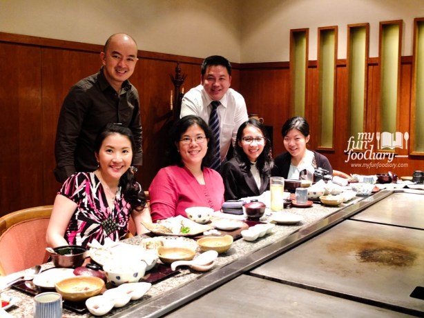 With Selba and Ellyna - Foodtasting Nishimura Restaurant