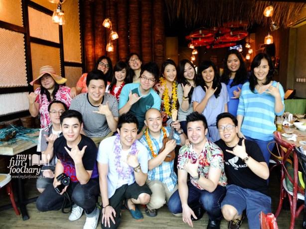 Togetherness at Hawaiian Bistro