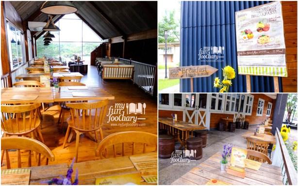 Suasana di The Barn Nannys Pavillon