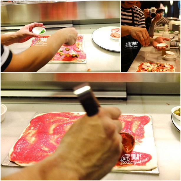 Behind The Scene Speciality Pizza Making