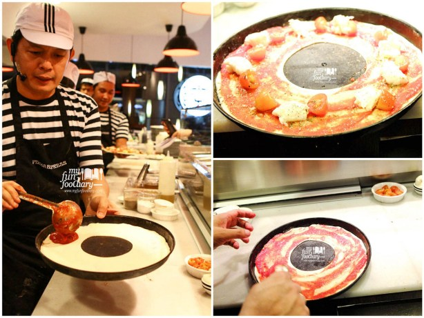 Behind the Scene in making Leggera Pizza