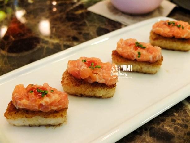 Salmon Tartar with Crispy Rice