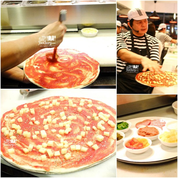 Romana Pizza The Making