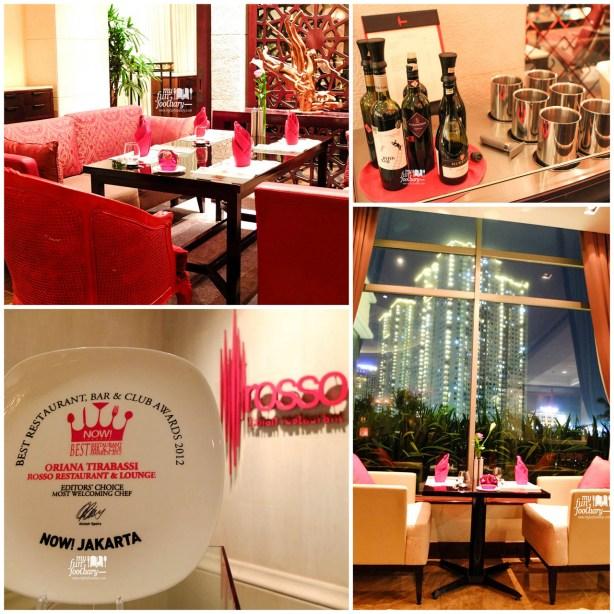 Suasana di Rosso Restaurant