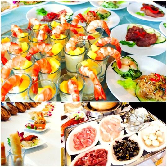 Aneka Pilihan Makanan di Tien Chao Weekend Live Cooking Demo