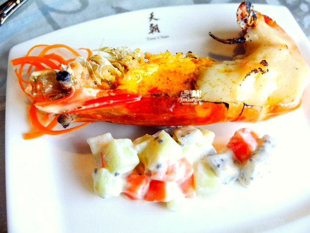 King Prawn with Cheese