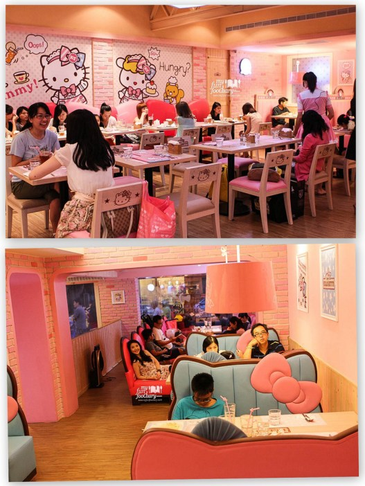 preview ambience of Hello Kitty Cafe 03