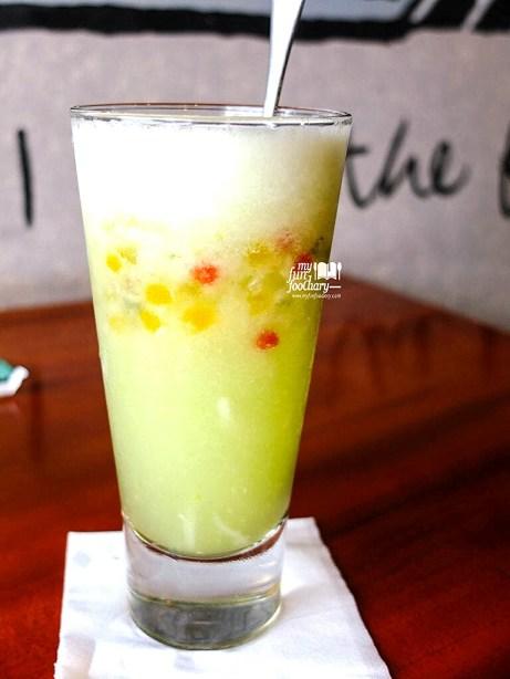 Cucumber Juice with Sago Beads