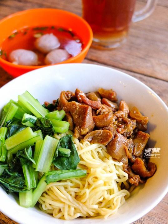 Mie Ayam Jamur Baso