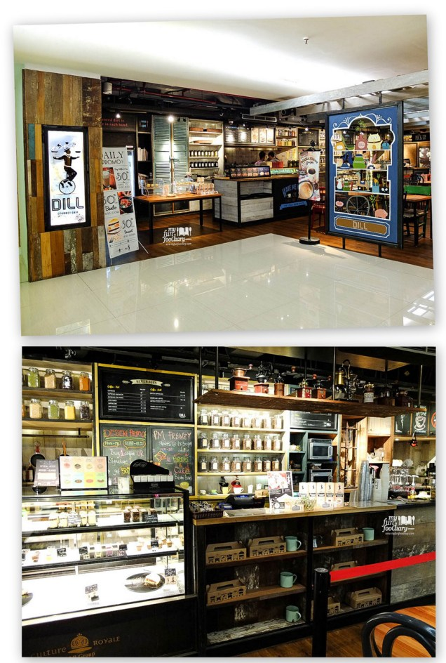 Tampak Depan Dill Gourmet Plaza Indo