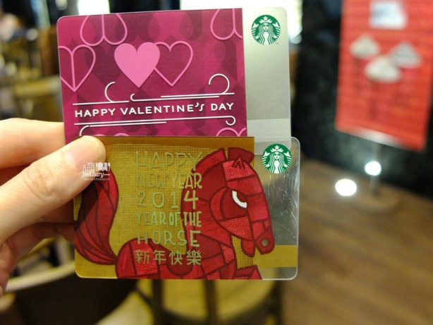 NEW Starbucks New Year's 2014 and Valentine's Day 2014