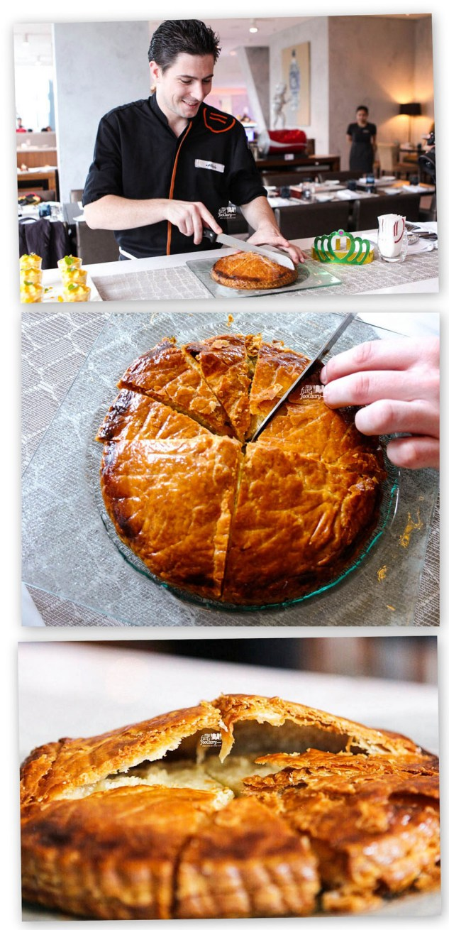 Chef Alexis and Galette des Rois