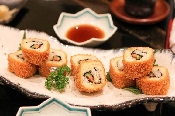 Foie Gras Maki Sushi Fry