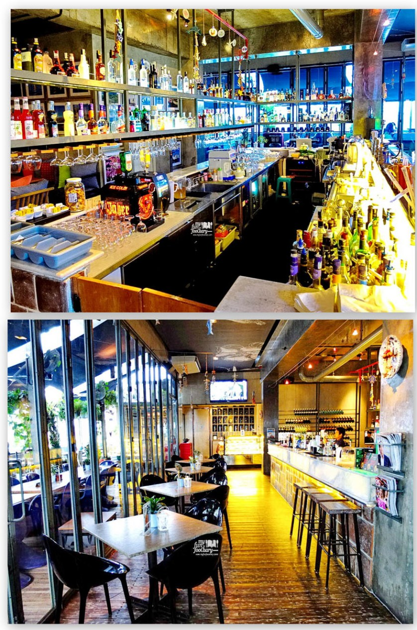 Bar Table and Indoor Area di Resto FJ on 7 Kemang