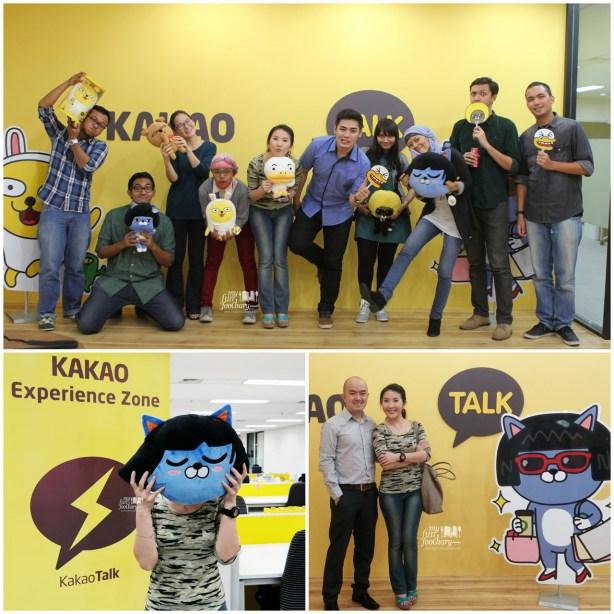 Bersama Peserta Undangan lain di Kakao Experience Zone Office - by Myfunfoodiary