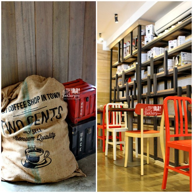 Decoration and Other Part of Indoor Area at Two Cents Coffee - by Myfunfoodiary