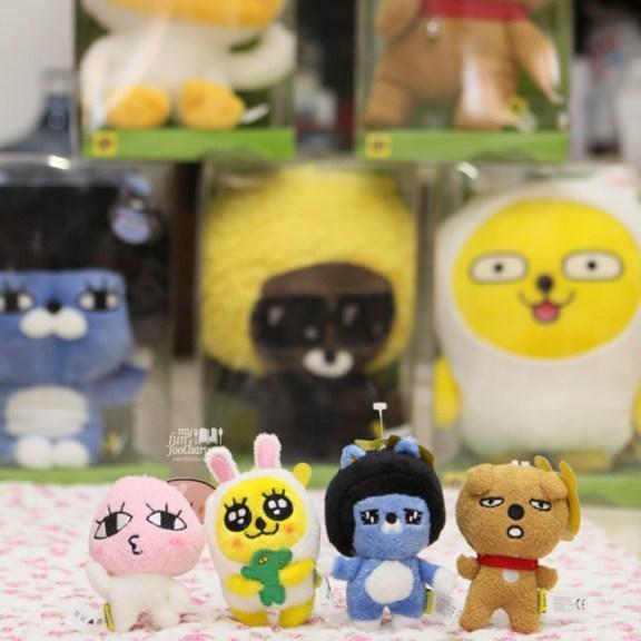Koleksi Boneka Kakao Friends by Myfunfoodiary