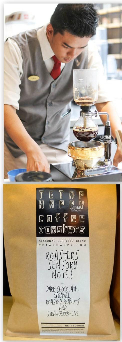 Making the coffee