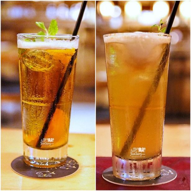 Minuman Ocha Flavours di Yellowfin Senopati by Myfunfoodiary