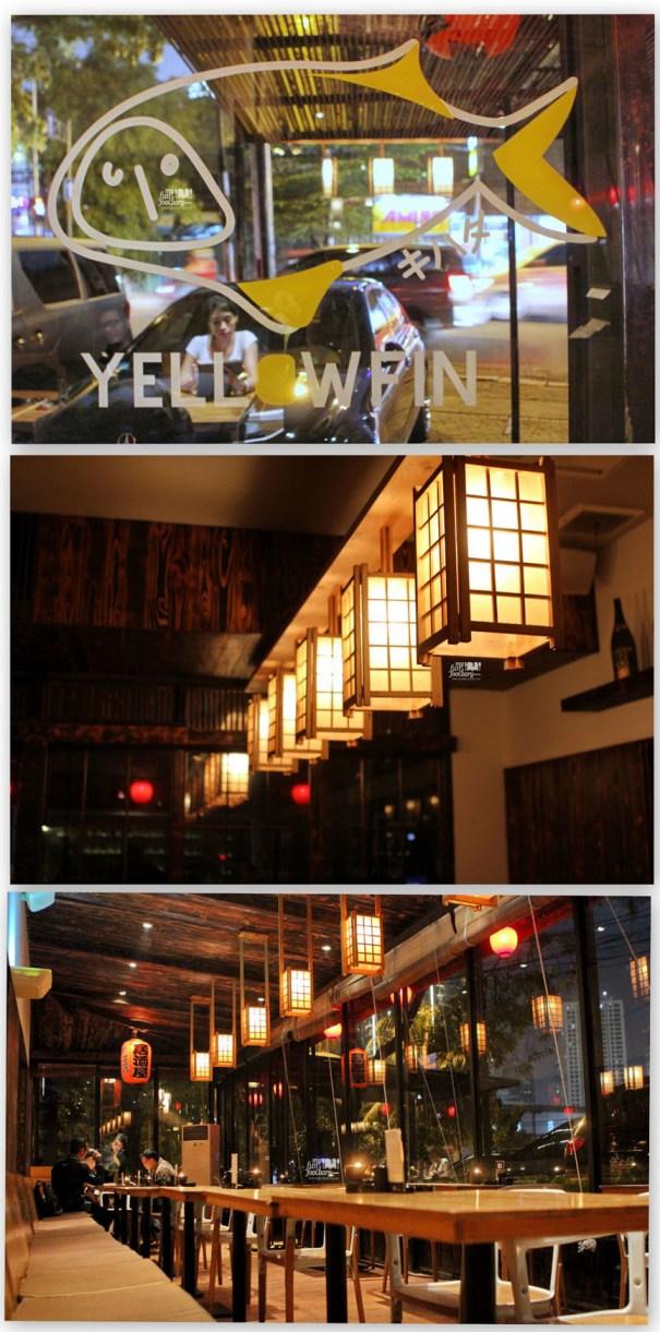 Night Scene at Yellowfin Senopati by Myfunfoodiary - indoor area
