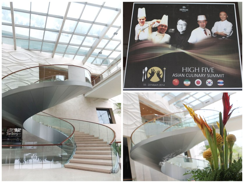 360 degree Staircase at Hilton Bandung by Myfunfoodiary