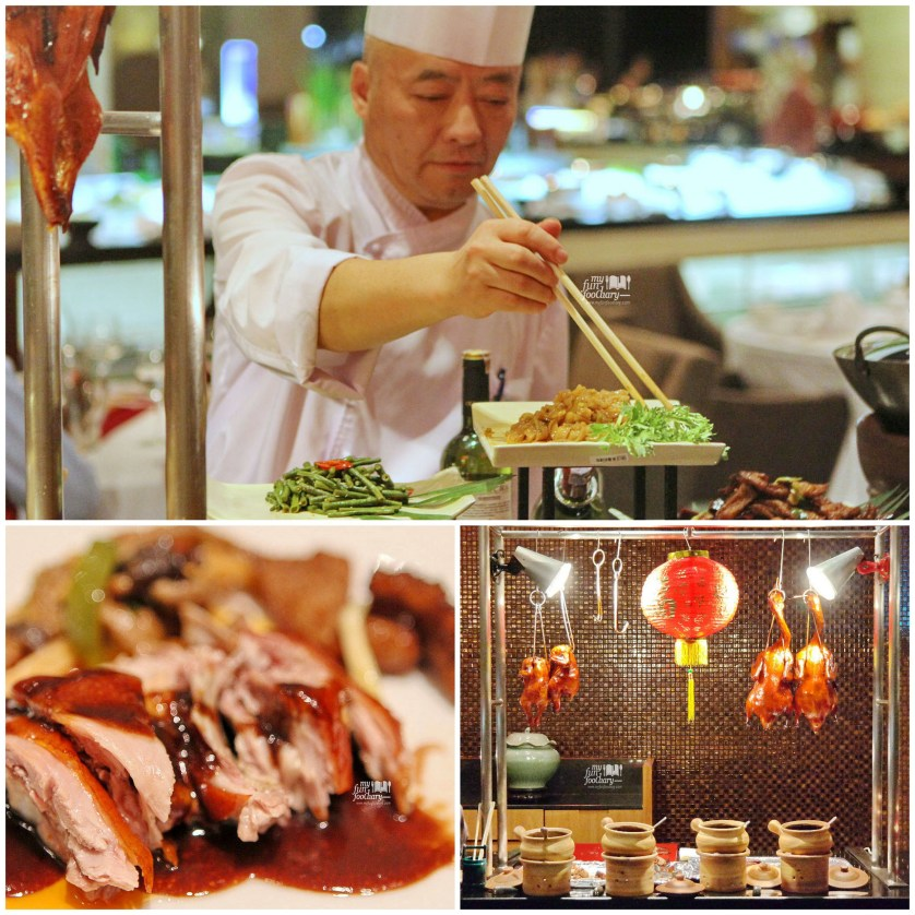 Chinese Food Station and Peking Duck at Purnawarman Restaurant Hilton Bandung by Myfunfoodiary