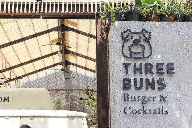 Front Side at Three Buns Jakarta by Myfunfoodiary