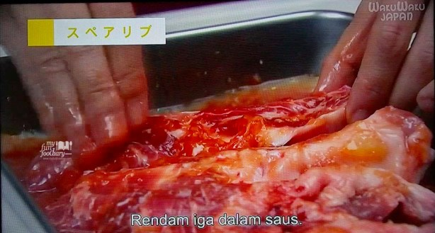Rendam Iga dalam Saus Olesan Grilled Ribs Basic of The Dishes WakuWakuJapan part 03-1