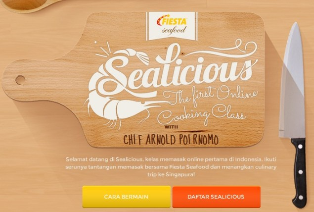 Sealicious the first online cooking class