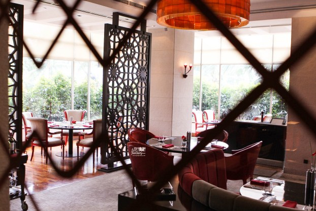 View from Lounge Area at Rosso Shangri-La Jakarta by Myfunfoodiary