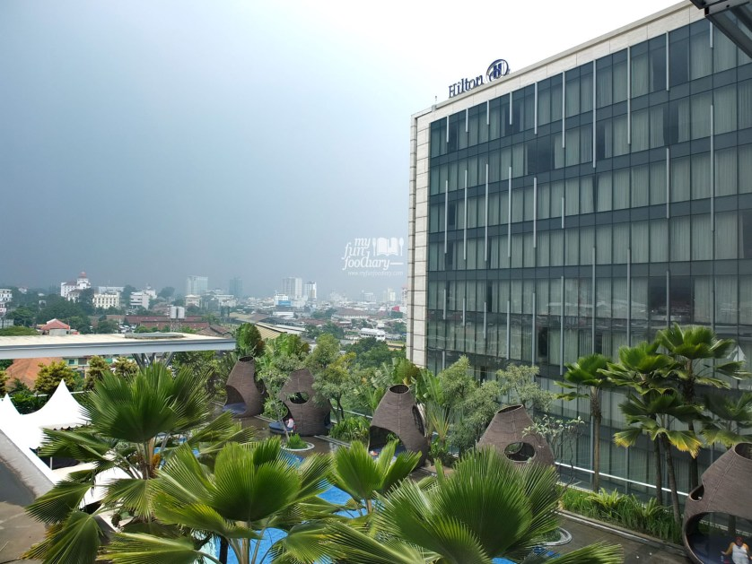 View from Room 825 v2 Hilton Bandung by Myfunfoodiary