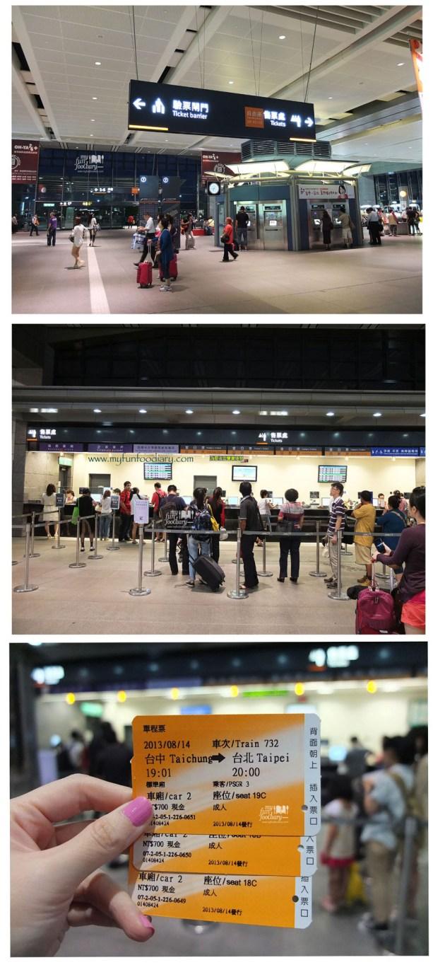 Beli Tiket HSR Taichung Taipei di Taichung Bus Station - by Myfunfoodiary