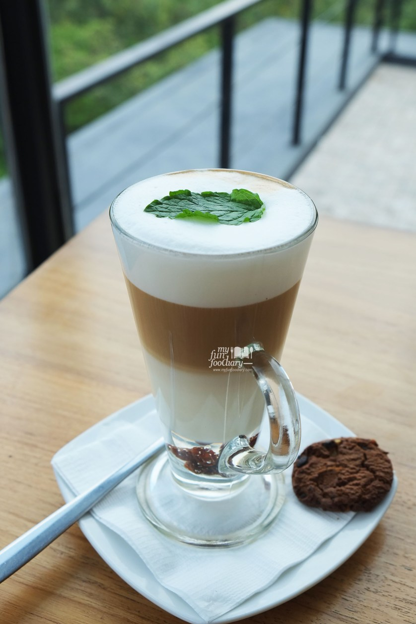 Hot Minty Latte at Lawang Wangi Art Space Bandung by Myfunfoodiary