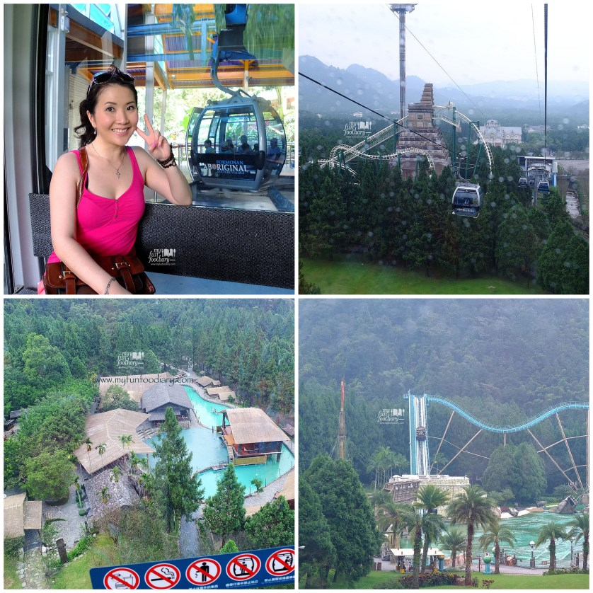 Inside the Cable Car at Formosan Aborigin Village - by Myfunfoodiary