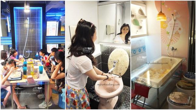Keunikan di dalam Modern Toilet Cafe Taiwan by Myfunfoodiary