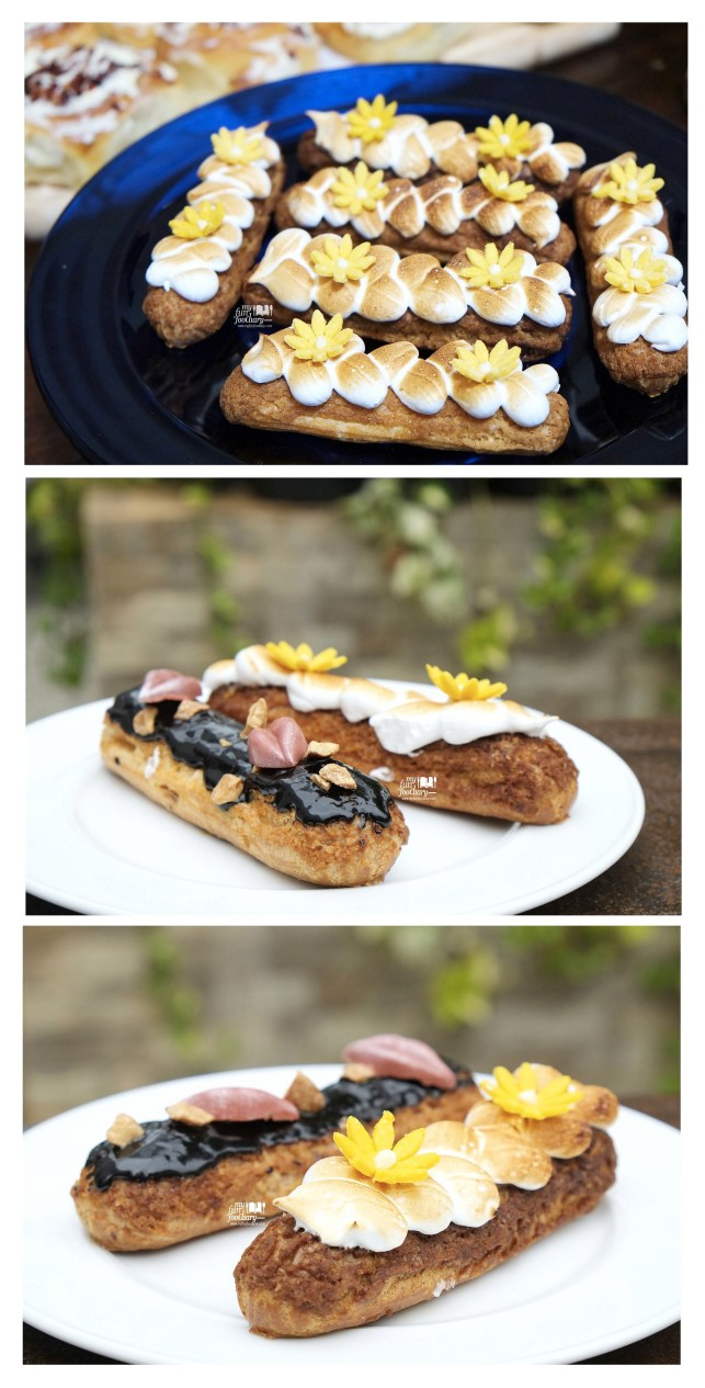 Lemon and Chocolate Eclair made by Chef Kim Pangestu at Hyde Kemang - by Myfunfoodiary 02